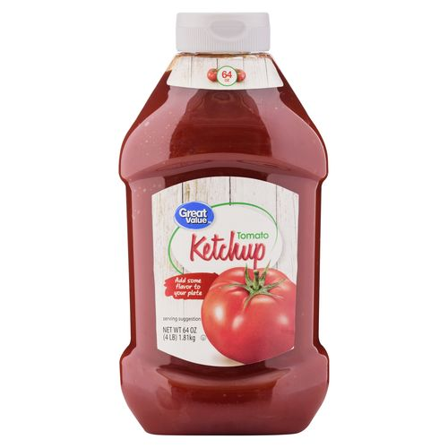 Salsa Great Value Tomate Ketchup - 1814gr