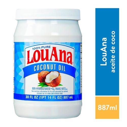Aceite De Coco Puro Louana - 887ml