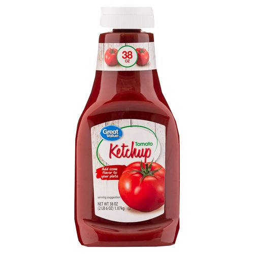 Salsa Great Value Tomate Ketchup - 1077gr