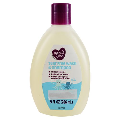 Shampoo Parents Choice Free Wash - 266ml