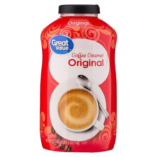 Crema Great Value Para Cafe Original - 1000gr