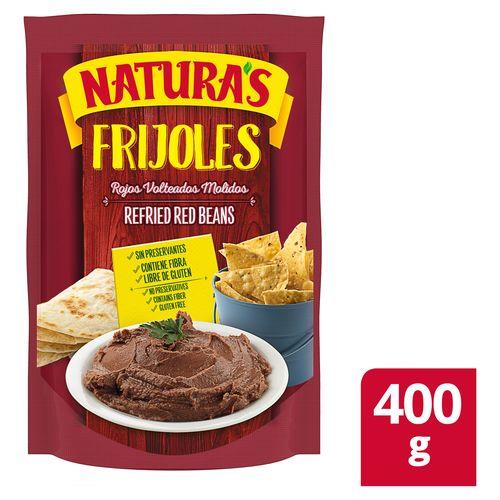 Frijol Naturas Molido Rojo - 400Gr