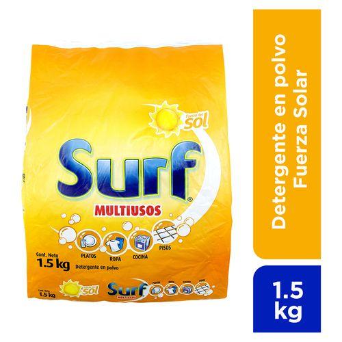 Detergente Polvo Surf Fuerza Solar 1 5Kg