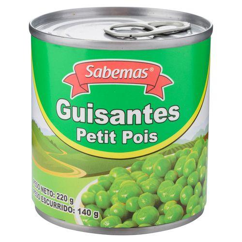 Guisantes Sabemas Petit Pois - 220gr
