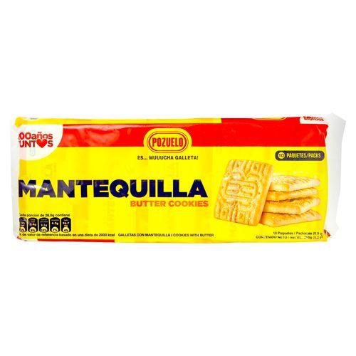 Galleta Pozuelo Mantequilla - 260Gr
