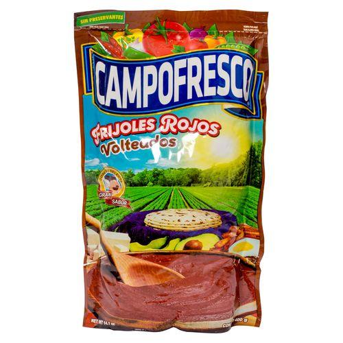 Frijol Campo Fresco Rojo Volteados - 400Gr