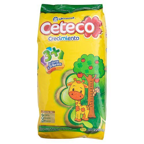 Leche Ceteco Crecimiento 3 Mas - 2200Gr