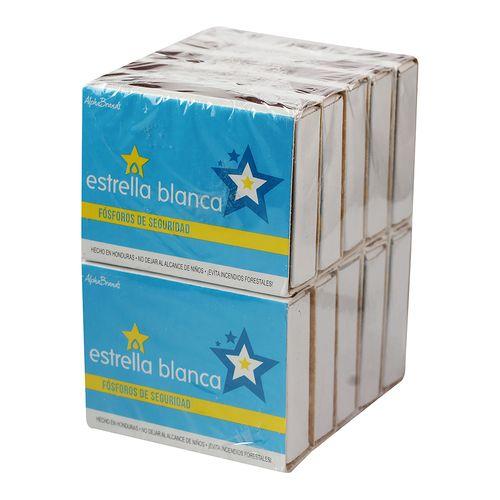 Fosforos Azul Estrella Blanca - 10 Unidades