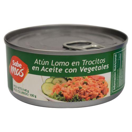 Atun Sabemas Trocitos Con Vegetale - 100gr