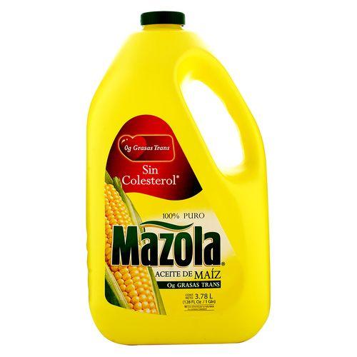 Aceite Mazola De Maiz Puro Galon - 3780ml